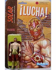 SUPER 7 REACTION FIGURES 3.75インチアクションフィギュア THE LEGENDS OF LUCHA LIBRE SOLAR