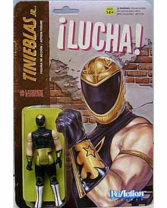 SUPER 7 REACTION FIGURES 3.75インチアクションフィギュア THE LEGENDS OF LUCHA LIBRE TINIEBLAS JR.