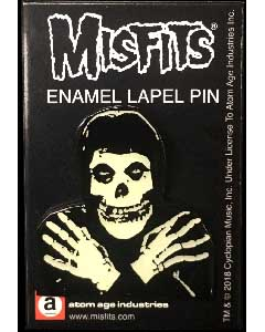 ATOM AGE INDUSTRIES ENAMEL PIN MISFITS FIEND [GLOW IN THE DARK]