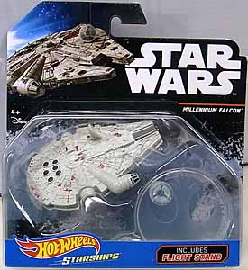 MATTEL HOT WHEELS STAR WARS DIE-CAST VEHICLE 2016 MILLENNIUM FALCON