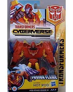 HASBRO アニメ版 TRANSFORMERS CYBERVERSE WARRIOR CLASS AUTOBOT HOT ROD