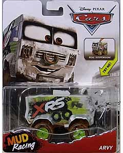MATTEL CARS 2018 XTREME RACING SERIES MUD RACING DELUXE ARVY