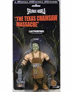 FUNKO SAVAGE WORLD 5.5インチアクションフィギュア THE TEXAS CHAINSAW MASSACRE LEATHERFACE