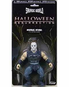 FUNKO SAVAGE WORLD 5.5インチアクションフィギュア HALLOWEEN 8: RESURRECTION MICHAEL MYERS