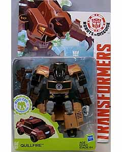 HASBRO アニメ版 TRANSFORMERS ROBOTS IN DISGUISE DELUXE CLASS QUILLFIRE