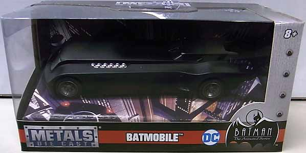 JADA TOYS METALS DIE CAST 1/32スケール BATMAN THE ANIMATED SERIES BATMOBILE パッケージ傷み特価