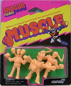 SUPER 7 MUSCLE SHOGUN FIGURES 3PACK [PACK B]