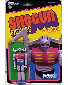 SUPER 7 REACTION FIGURES 3.75インチアクションフィギュア SHOGUN FIGURES GARADA K7