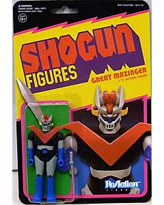 SUPER 7 REACTION FIGURES 3.75インチアクションフィギュア SHOGUN FIGURES GREAT MAZINGER