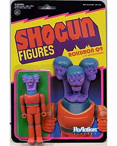 SUPER 7 REACTION FIGURES 3.75インチアクションフィギュア SHOGUN FIGURES ROKURON Q9