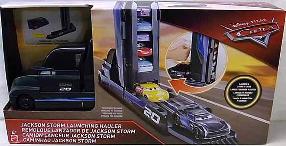 MATTEL CARS 2018 PLAYSET JACKSON STORM LAUNCHING HAULER