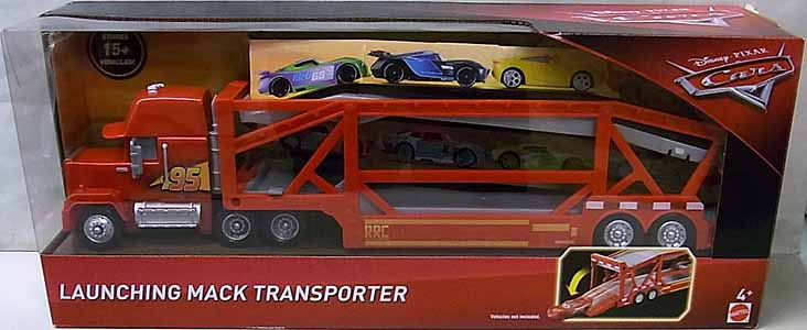 MATTEL CARS 2018 PLAYSET LAUNCHING MACK TRANSPORTER