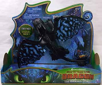 SPIN MASTER HOW TO TRAIN YOUR DRAGON: THE HIDDEN WORLD TOOTHLESS DELUXE DRAGON WITH LIGHTS AND SOUNDS