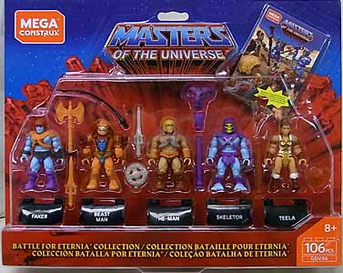 MEGA CONSTRUX MASTERS OF THE UNIVERSE BATTLE FOR ETERNIA COLLECTION 5PACK 台紙傷み特価