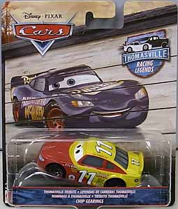 MATTEL CARS 2018 THOMASVILLE RACING LEGENDS シングル CHIP GEARINGS