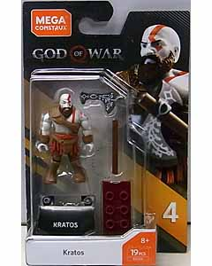 MEGA CONSTRUX MEGA CONSTRUX HEROES SERIES 4 GOD OF WAR KRATOS