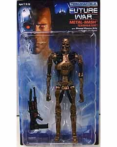 NECA TERMINATOR 2 KENNER TRIBUTE 7インチアクションフィギュア シリーズ1 METAL MASH ENDOSKELETON