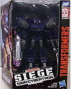 HASBRO TRANSFORMERS SIEGE LEADER CLASS DECEPTICON SHOCKWAVE