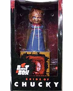 MEZCO BURST-A-BOX BRIDE OF CHUCKY CHUCKY