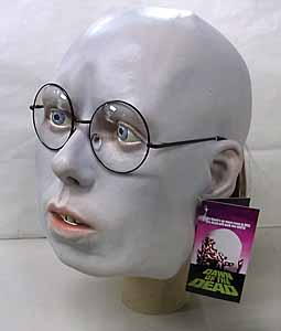 TRICK OR TREAT STUDIOS ラバーマスク DAWN OF THE DEAD HARE KRISHNA ZOMBIE [GLASSES FRAME COLOR: BLACK]