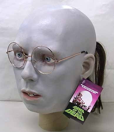 TRICK OR TREAT STUDIOS ラバーマスク DAWN OF THE DEAD HARE KRISHNA ZOMBIE [GLASSES FRAME COLOR: COPPER]