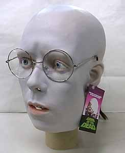 TRICK OR TREAT STUDIOS ラバーマスク DAWN OF THE DEAD HARE KRISHNA ZOMBIE [GLASSES FRAME COLOR: SILVER]