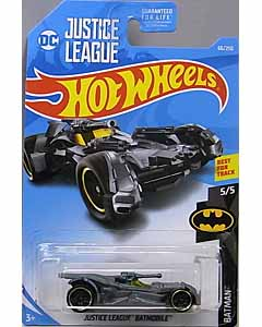 MATTEL HOT WHEELS 1/64スケール 2019 BATMAN JUSTICE LEAGUE BATMOBILE #066 [GREY]