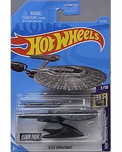 MATTEL HOT WHEELS 1/64スケール 2019 HW SCREEN TIME STAR TREK U.S.S. VENGEANCE #052
