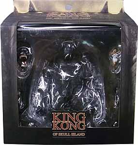 MEZCO KING KONG OF SKULL ISLAND 7インチアクションフィギュア KONG パッケージ傷み特価