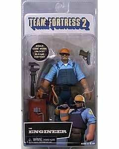 NECA TEAM FORTRESS 2 7インチアクションフィギュア シリーズ3.5 BLU THE ENGINEER