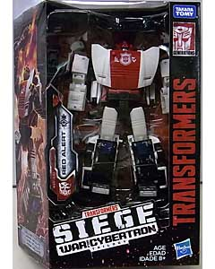 HASBRO TRANSFORMERS SIEGE DELUXE CLASS RED ALERT