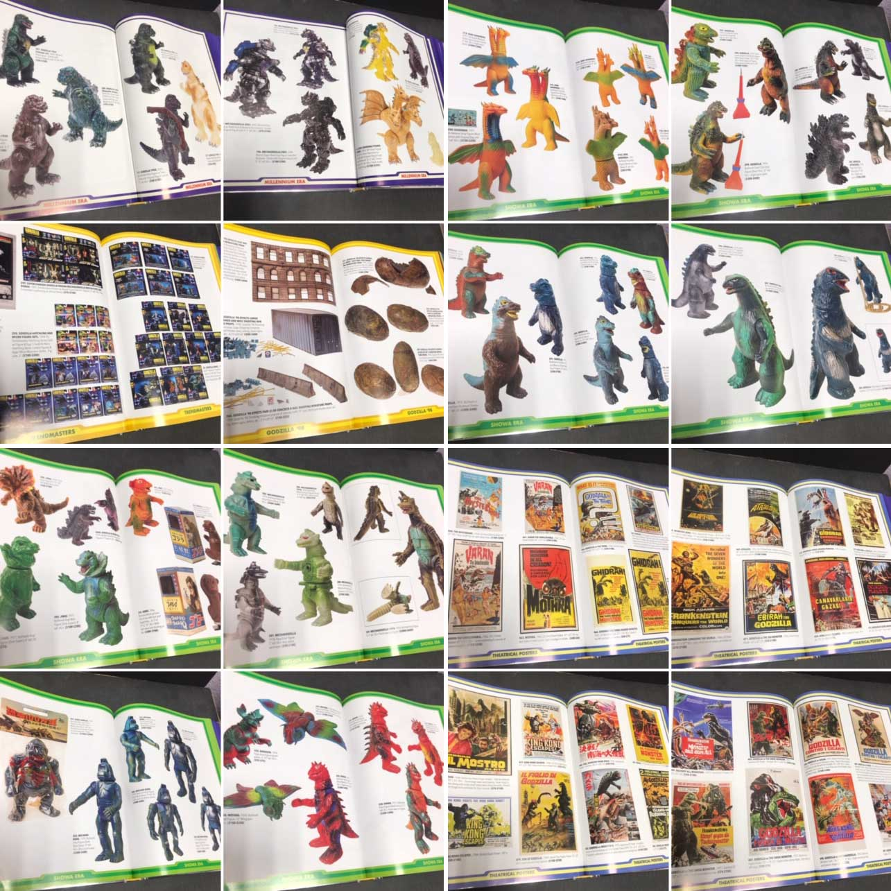 VINYL CONFLICT THE WORLD OF GODZILLA TOYS 傷み特価