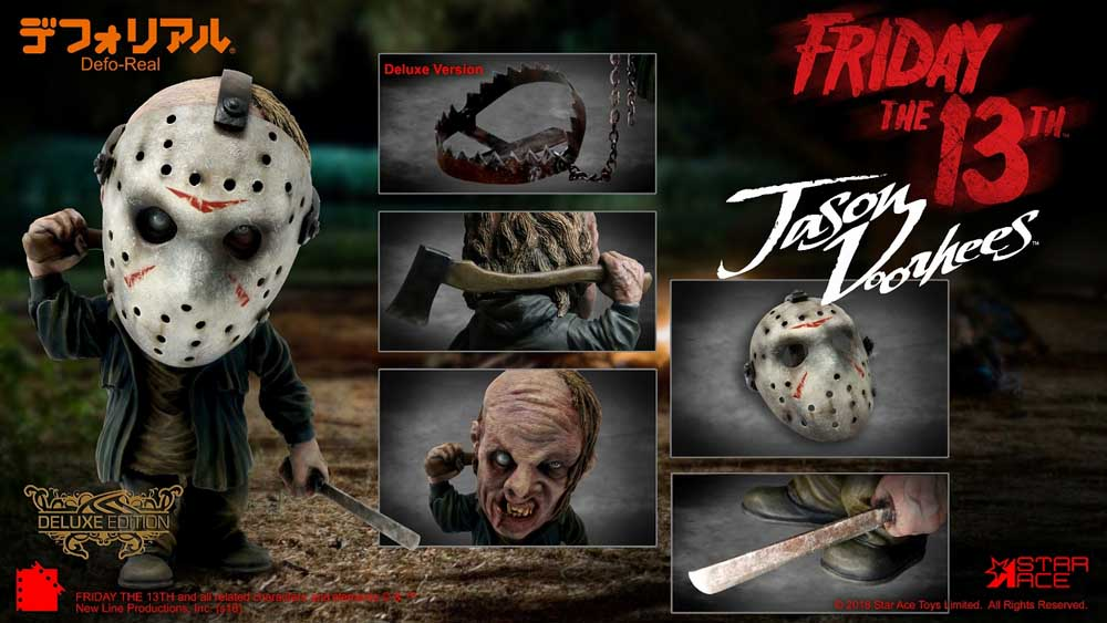 STAR ACE デフォリアル FRIDAY THE 13TH (2009) JASON VOORHEES DELUXE VERSION