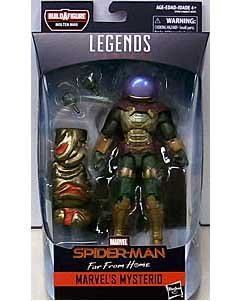 HASBRO MARVEL LEGENDS 2019 SPIDER-MAN SERIES 10.0 映画版 SPIDER-MAN: FAR FROM HOME MARVEL'S MYSTERIO [MOLTEN MAN SERIES] パッケージ傷み特価