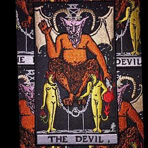 PALLBEARER PRESS アイロンワッペン THE DEVIL