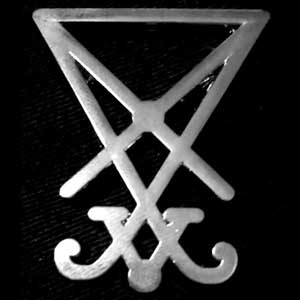 PALLBEARER PRESS ENAMEL PIN SIGIL OF LUCIFER