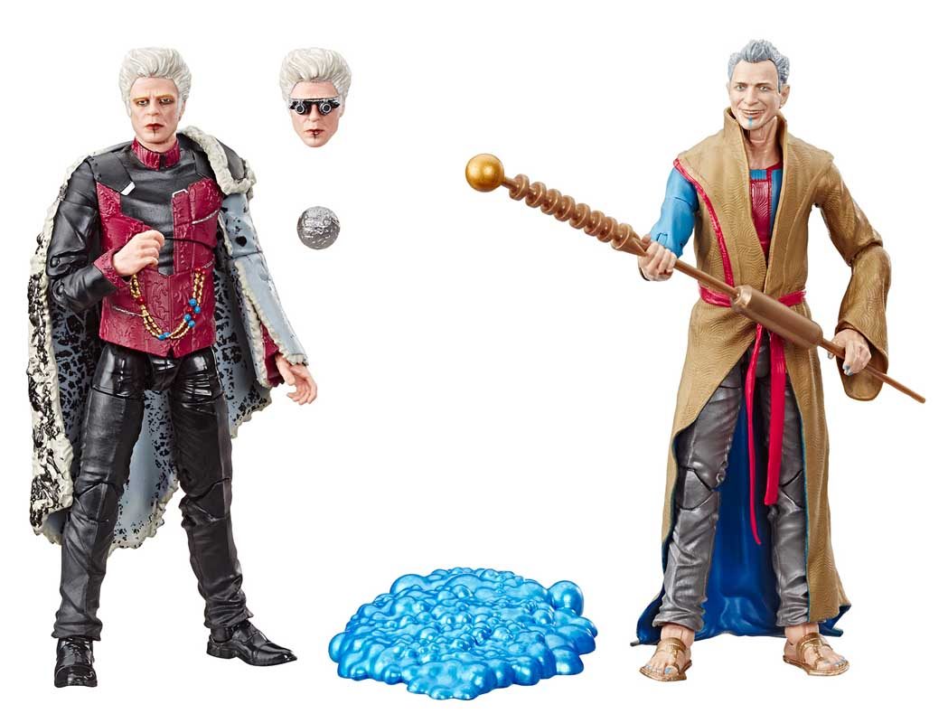 2019年 サンディエゴ・コミコン限定 HASBRO MARVEL LEGENDS 2019 2PACK MARVEL'S THE COLLECTOR & MARVEL'S GRANDMASTER