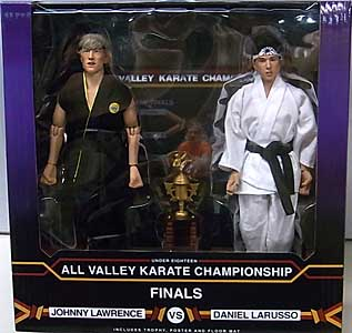 NECA THE KARATE KID 8インチドール DANIEL VS JOHNNY TOURNAMENT 2PACK