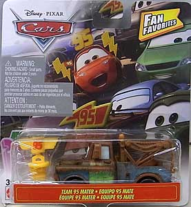 MATTEL CARS 2019 FAN FAVORITES シングル TEAM 95 MATER