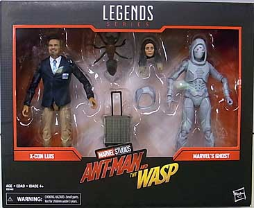 HASBRO MARVEL LEGENDS 2019 2PACK 映画版 ANT-MAN AND THE WASP X-CON LUIS & MARVEL'S GHOST