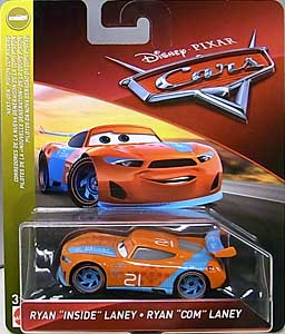 MATTEL CARS 2018-2019 シングル RYAN INSIDE LANEY