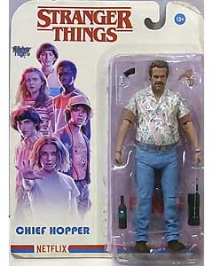 McFARLANE TOYS STRANGER THINGS 7インチアクションフィギュア SERIES 4 CHIEF HOPPER