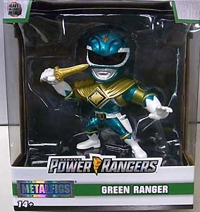 JADA TOYS METALS DIE CAST 4インチフィギュア POWER RANGERS MIGHTY MORPHIN GREEN RANGER [NEW PACKAGE]
