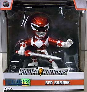 JADA TOYS METALS DIE CAST 4インチフィギュア POWER RANGERS MIGHTY MORPHIN RED RANGER [NEW PACKAGE]