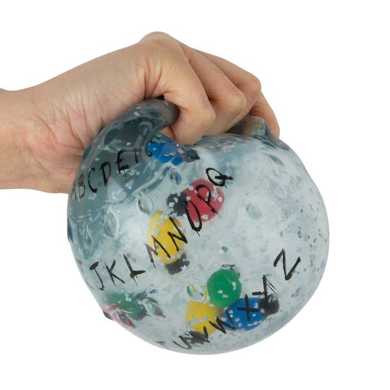 ORB TOYS STRANGER THINGS ALPHABET BALL