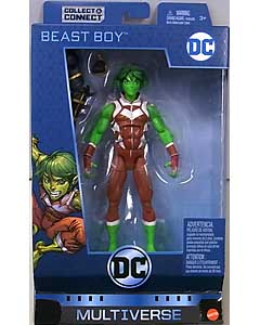 MATTEL DC MULTIVERSE 6インチアクションフィギュア TEEN TITANS BEAST BOY [NINJA BATMAN SERIES]