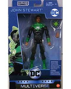 MATTEL DC MULTIVERSE 6インチアクションフィギュア DC REBIRTH JOHN STEWART [NINJA BATMAN SERIES]