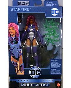 MATTEL DC MULTIVERSE 6インチアクションフィギュア DC REBIRTH STARFIRE [NINJA BATMAN SERIES]