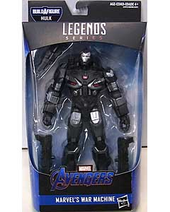 HASBRO MARVEL LEGENDS 2019 AVENGERS: ENDGAME SERIES 2.0 映画版 AVENGERS: ENDGAME MARVEL'S WAR MACHINE [HULK SERIES] パッケージ傷み特価