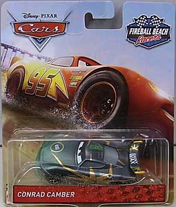 MATTEL CARS 2018-2019 FIREBALL BEACH RACERS シングル CONRAD CAMBER
